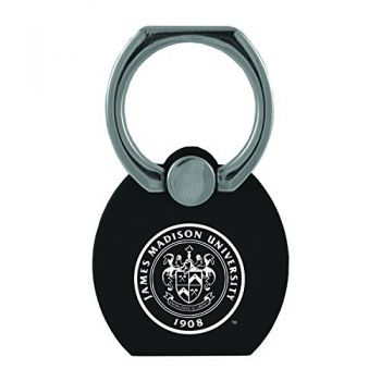 James Madison University|Multi-Functional Phone Stand Tech Ring|Black