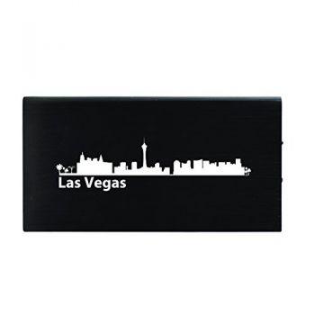 Quick Charge Portable Power Bank 8000 mAh - Las Vegas City Skyline