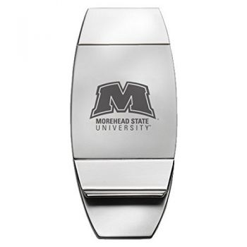 Morehead State University - Two-Toned Money Clip - Silver