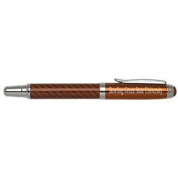 Bowling Green State University - Carbon Fiber Rollerball Pen - Orange