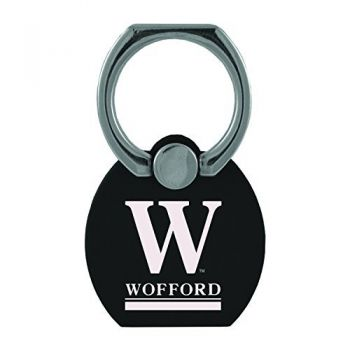Wofford College|Multi-Functional Phone Stand Tech Ring|Black