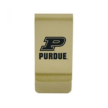 Prairie View A&M University|Money Clip with Contemporary Metals Finish|Solid Brass|High Tension Clip to Securely Hold Cash, Cards and ID's|Silver