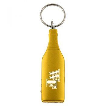 Wake Forest University-Wine Shaped Bottle Opener-Gold