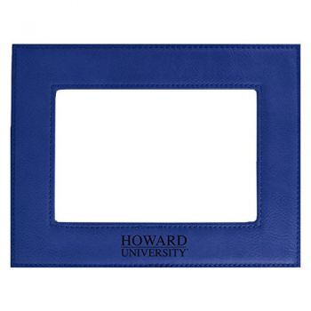 Howard University-Velour Picture Frame 4x6-Blue