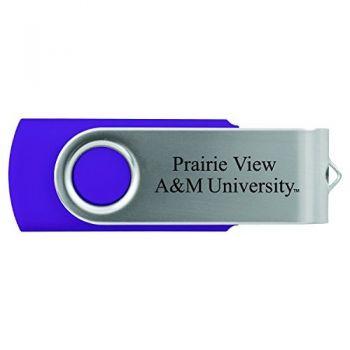 Prairie View A&M University -8GB 2.0 USB Flash Drive-Purple