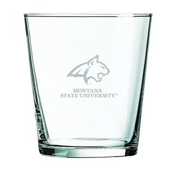 Montana State University -13 oz. Rocks Glass
