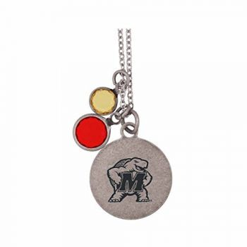 University of Maryland-Frankie Tyler by LXG Charmed Necklace