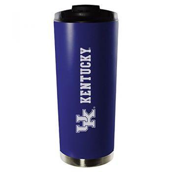 University of Kentucky-16oz. Stainless Steel Vacuum Insulated Travel Mug Tumbler-Blue