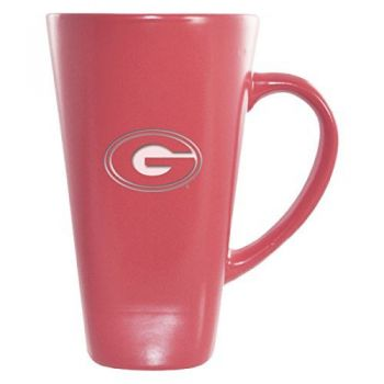 Grambling State University-16 oz. Tall Ceramic Coffee Mug-Pink