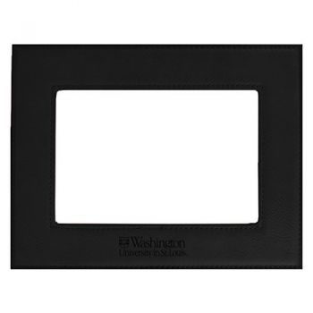 Washington University in St. Louis-Velour Picture Frame 4x6-Black