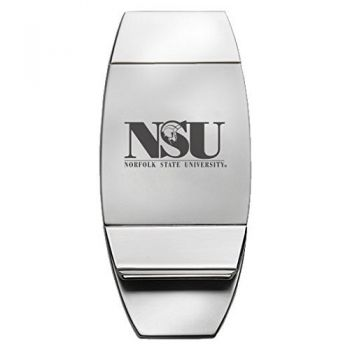 Norfolk State University - Two-Toned Money Clip