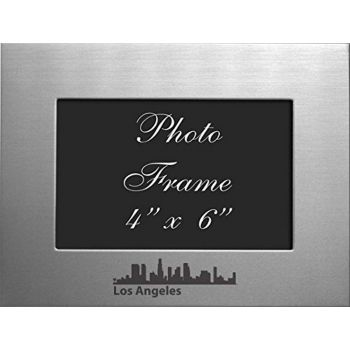 4 x 6  Metal Picture Frame - Los Angeles City Skyline