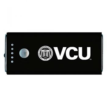 Virginia Commonwealth University-Portable Cell Phone 5200 mAh Power Bank Charger -Black