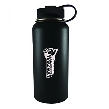 Central Connecticut University-32 oz. Travel Tumbler-Black