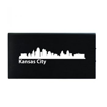 Quick Charge Portable Power Bank 8000 mAh - Kansas City City Skyline