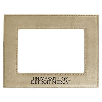 University of Detroit Mercy-Velour Picture Frame 4x6-Tan