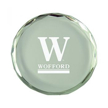 Wofford College-Crystal Paper Weight