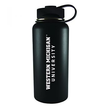 Western Michigan University-32 oz. Travel Tumbler-Black