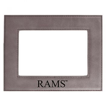 Colorado State University-Velour Picture Frame 4x6-Grey