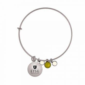 East Tennessee State University-Frankie Tyler Charmed Bracelet