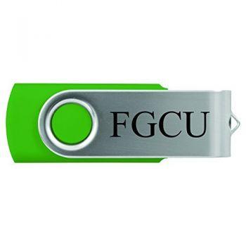 Florida Gulf Coast University -8GB 2.0 USB Flash Drive-Green