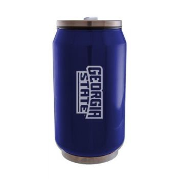 Georgia State University - Stainless Steel Tailgate Can - Blue