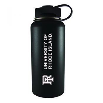 The University of Rhode Island -32 oz. Travel Tumbler-Black