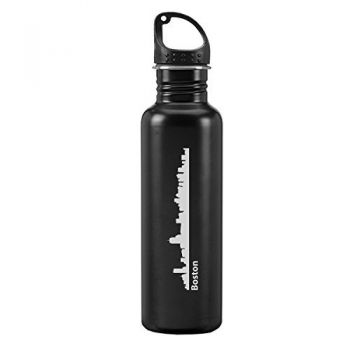 24 oz Reusable Water Bottle - Boston City Skyline
