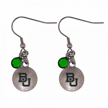 Baylor University-Frankie Tyler Charmed Earrings
