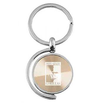 Pittsburg State University - Spinner Key Tag - Gold