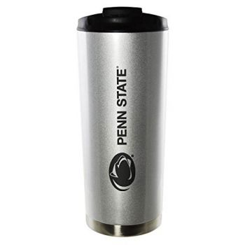 Pennsylvania State University-16oz. Stainless Steel Vacuum Insulated Travel Mug Tumbler-Silver