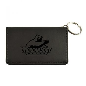 Velour ID Holder-Morgan State University-Black