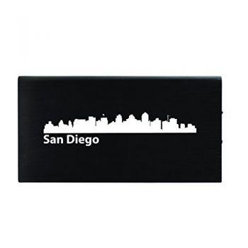 Quick Charge Portable Power Bank 8000 mAh - San Diego City Skyline