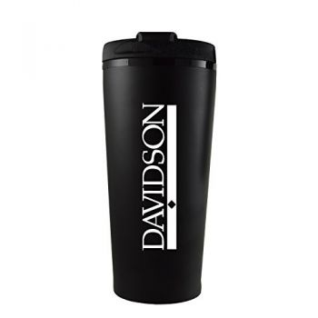 Davidson College-16 oz. Travel Mug Tumbler-Black