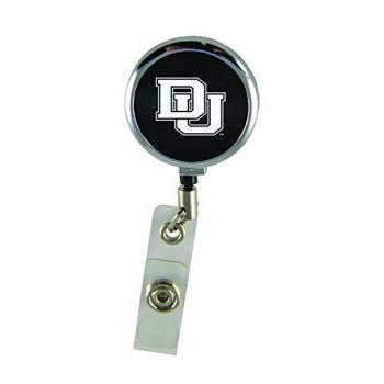University of Denver-Retractable Badge Reel-Black