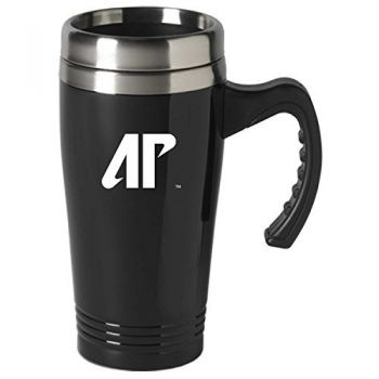 Austin Peay State University-16 oz. Stainless Steel Mug-Black