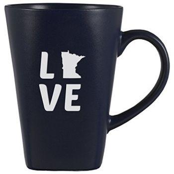 14 oz Square Ceramic Coffee Mug - Minnesota Love - Minnesota Love