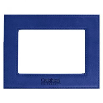 Creighton University-Velour Picture Frame 4x6-Blue