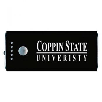Coppin State University -Portable Cell Phone 5200 mAh Power Bank Charger -Black