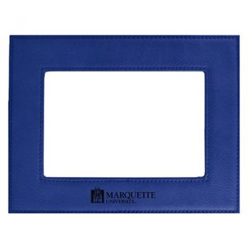 Marquette University-Velour Picture Frame 4x6-Blue