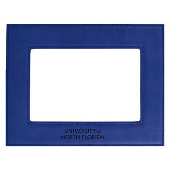University of North Florida-Velour Picture Frame 4x6-Blue