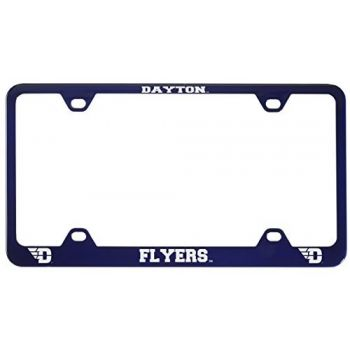 University of Dayton -Metal License Plate Frame-Blue