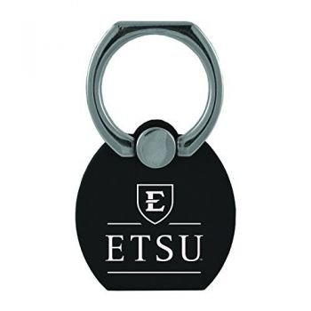 East Tennessee State University|Multi-Functional Phone Stand Tech Ring|Black