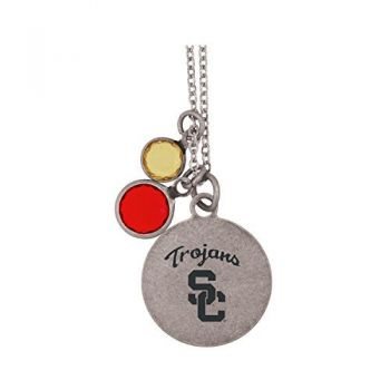 University of Southern California-Frankie Tyler by LXG Charmed Necklace