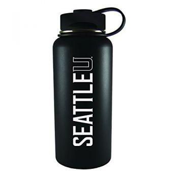 Seattle University -32 oz. Travel Tumbler-Black