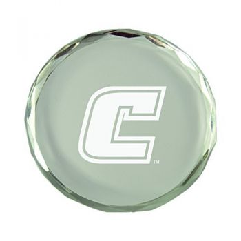 University of Tennessee at Chattanooga-Crystal Paper Weight