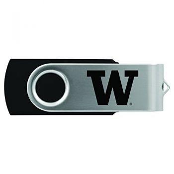 University of Washington-8GB 2.0 USB Flash Drive-Black