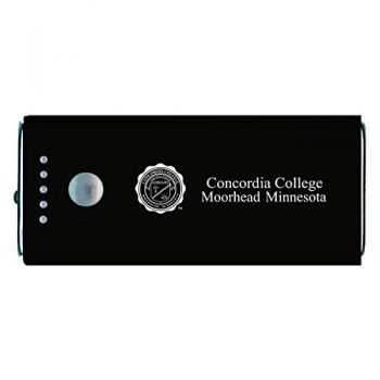 Concordia University Chicago -Portable Cell Phone 5200 mAh Power Bank Charger -Black