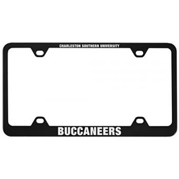 Charleston Southern University -Metal License Plate Frame-Black