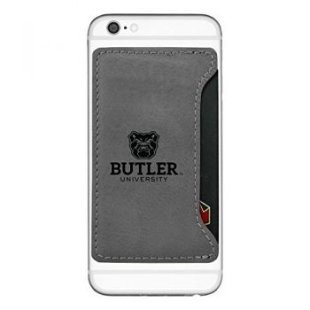 Butler University-Cell Phone Card Holder-Grey